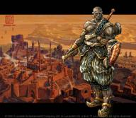 armor character city fantasy fighter location male sword // 720x629 // 45.7KB