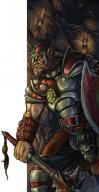 armor bugbear character creature fighter male // 300x577 // 50.4KB