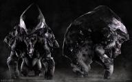 boss brute creature fantasy greed horns huge mineral sins // 1920x1200 // 431.5KB