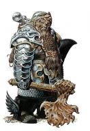 armor axe beard character dwarf fantasy fighter knight male paladin plate // 400x581 // 52.8KB