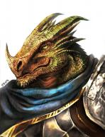 character dragonborn fantasy fighter knight paladin plate // 786x1017 // 227.2KB