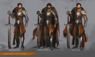 Daniel_Kamarudin_(artist) beard black_hair character cloak fighter greatsword human knight male paladin plate sword // 1146x697 // 153.3KB
